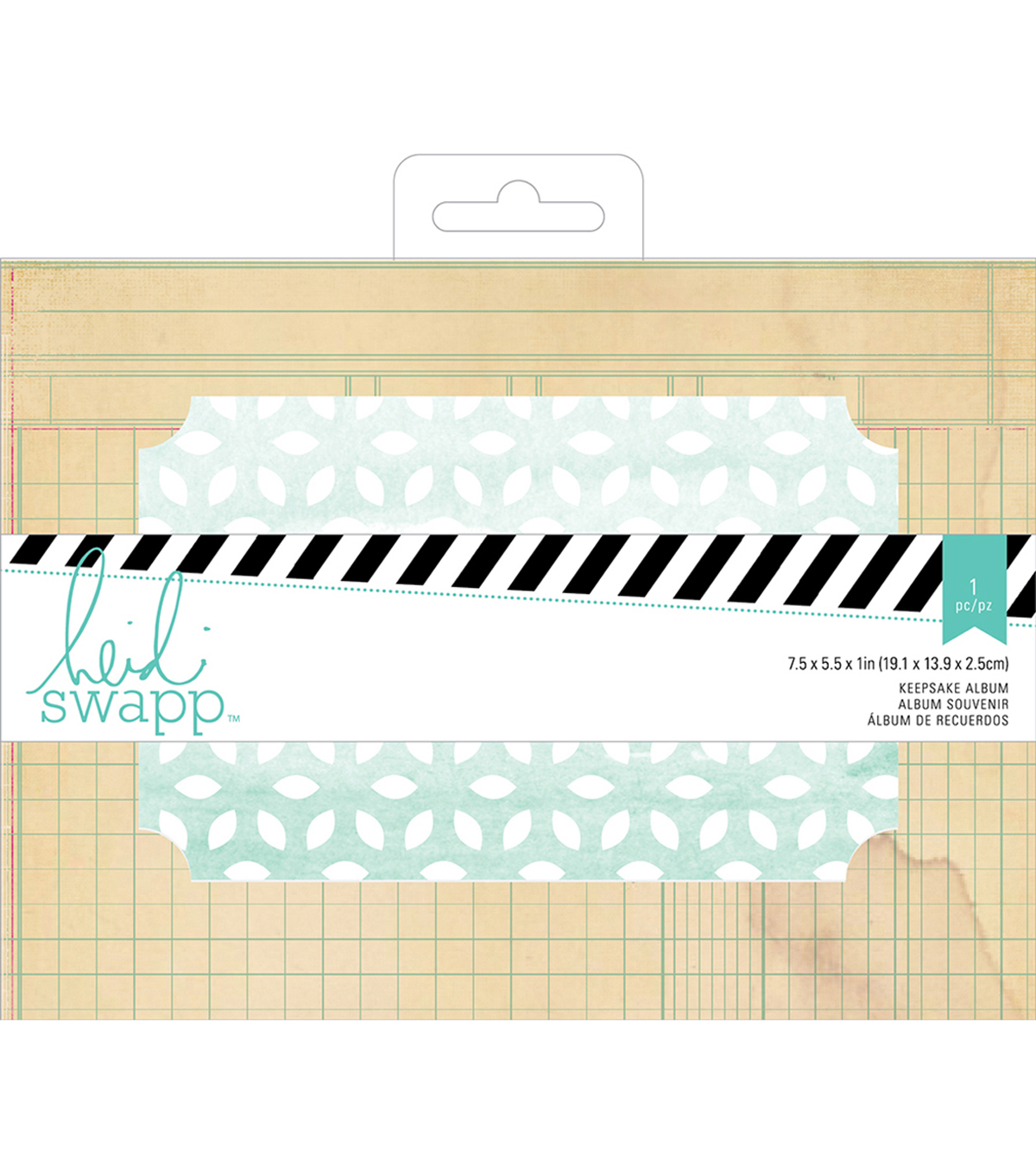 Wanderlust Keepsake Album 7.5\u0022X5.5\u0022-Ledger Rectangle