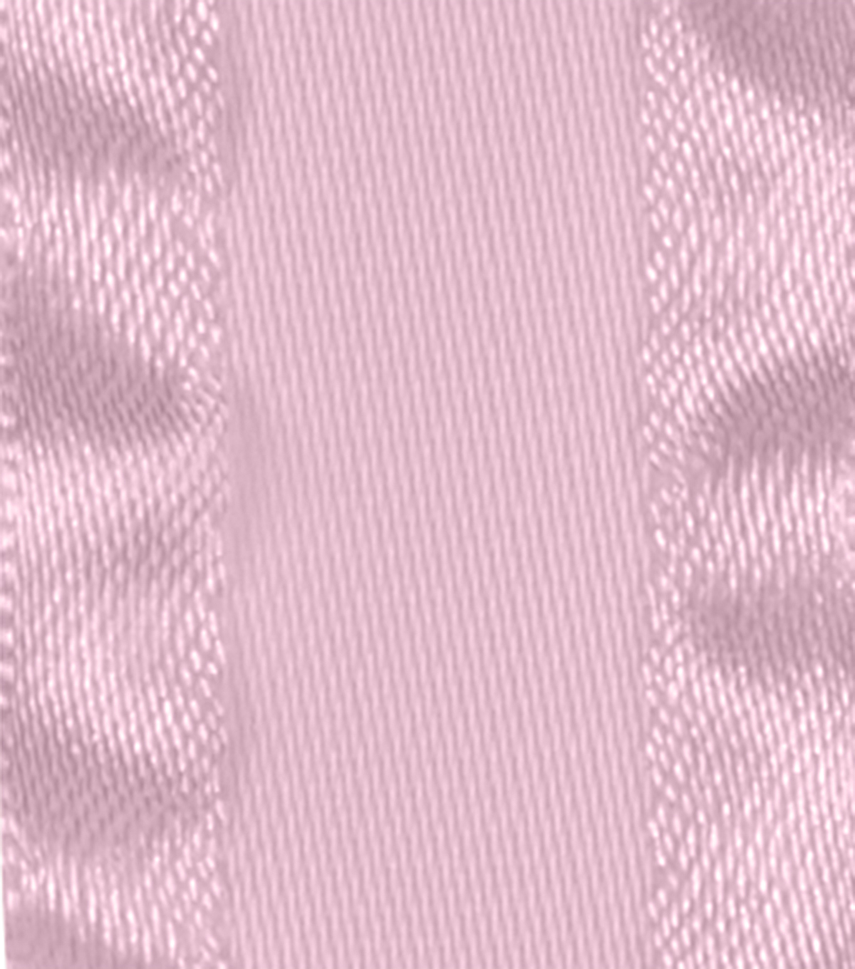"Offray 7/8""x9' Double Ruffle Satin Solid Ribbon-Light Pink"