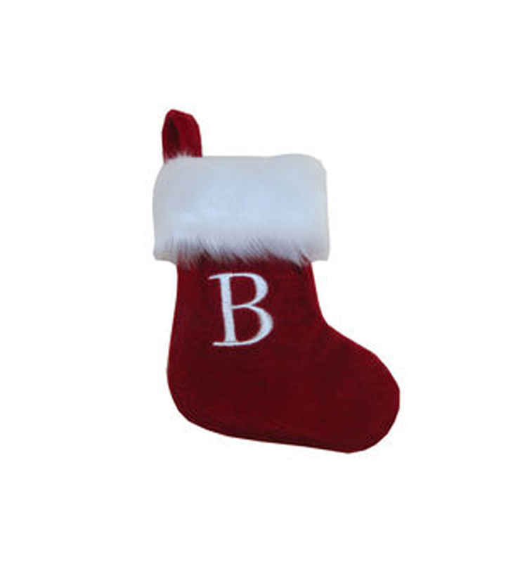 Mini Monogram Stocking