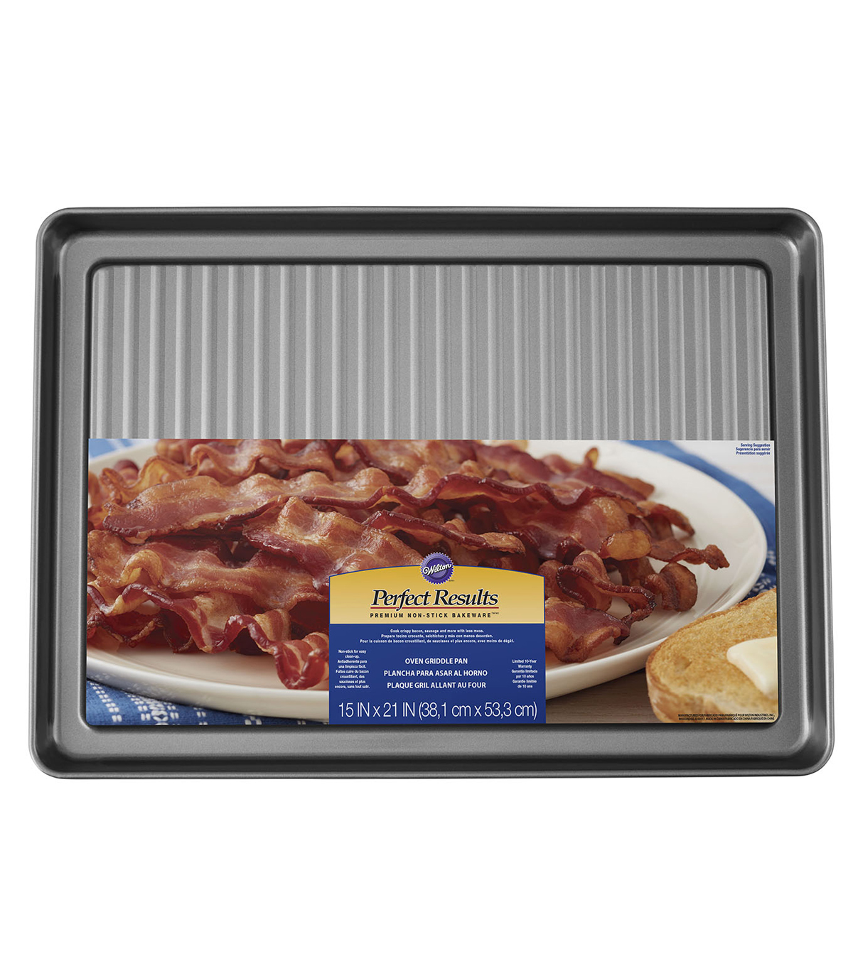 Wilton® Perfect Results 15''x21'' Non-Stick Oven Griddle Pan