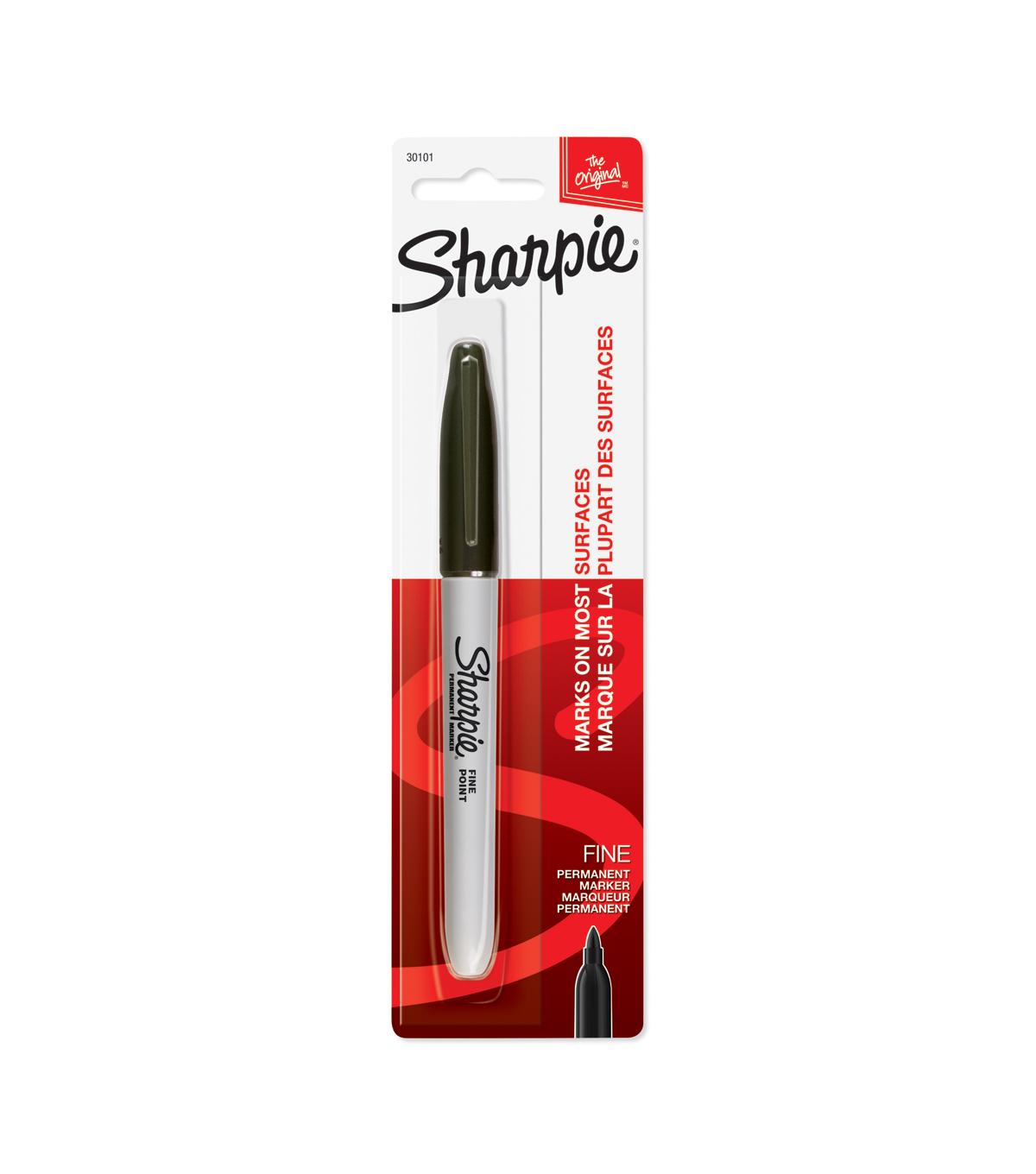 Sharpie Fine Point Permanent Marker 1/Pk-Black
