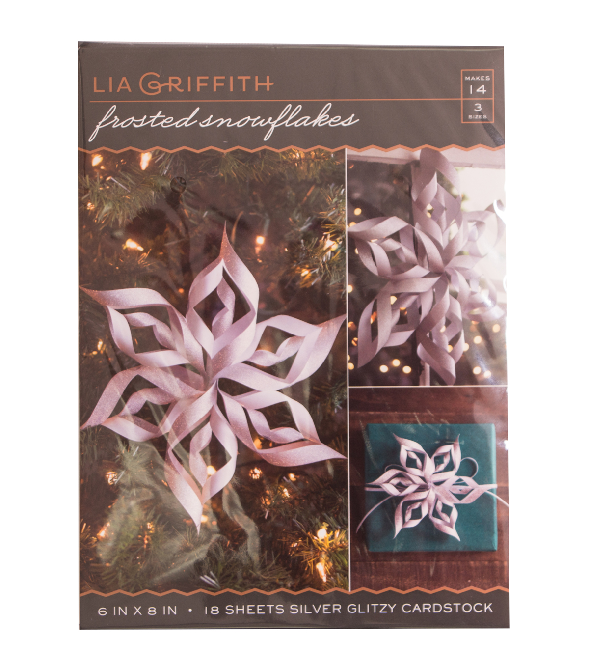 Lia Griffith Frosted Snowflake Set