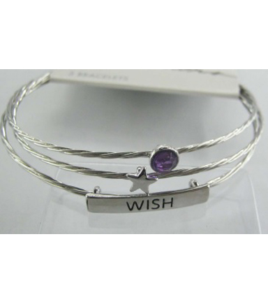 Bangle Expressions Silver Bracelet Assortment 274