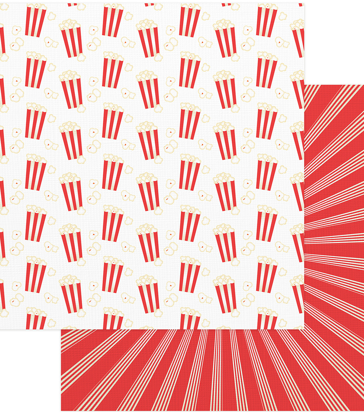"Summer Bucket List Double-Sided Cardstock 12""X12""-Popcorn Popping"