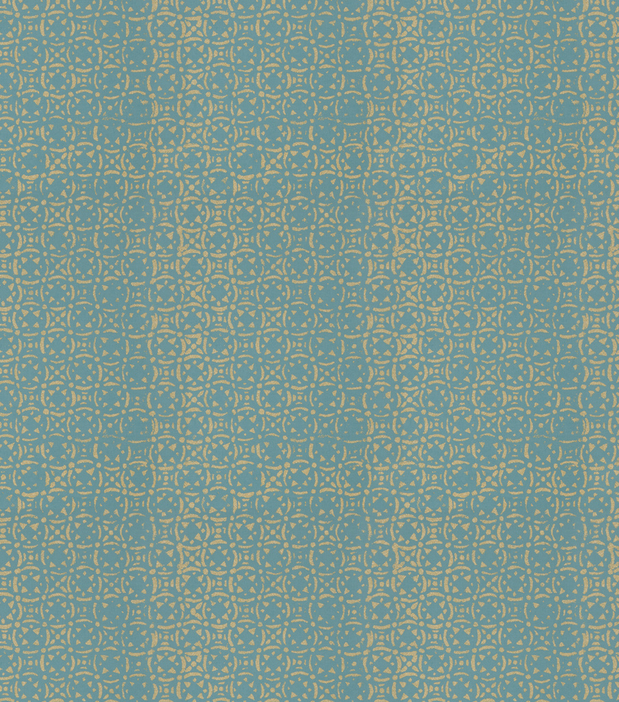 Venetian Tile Teal Swatch