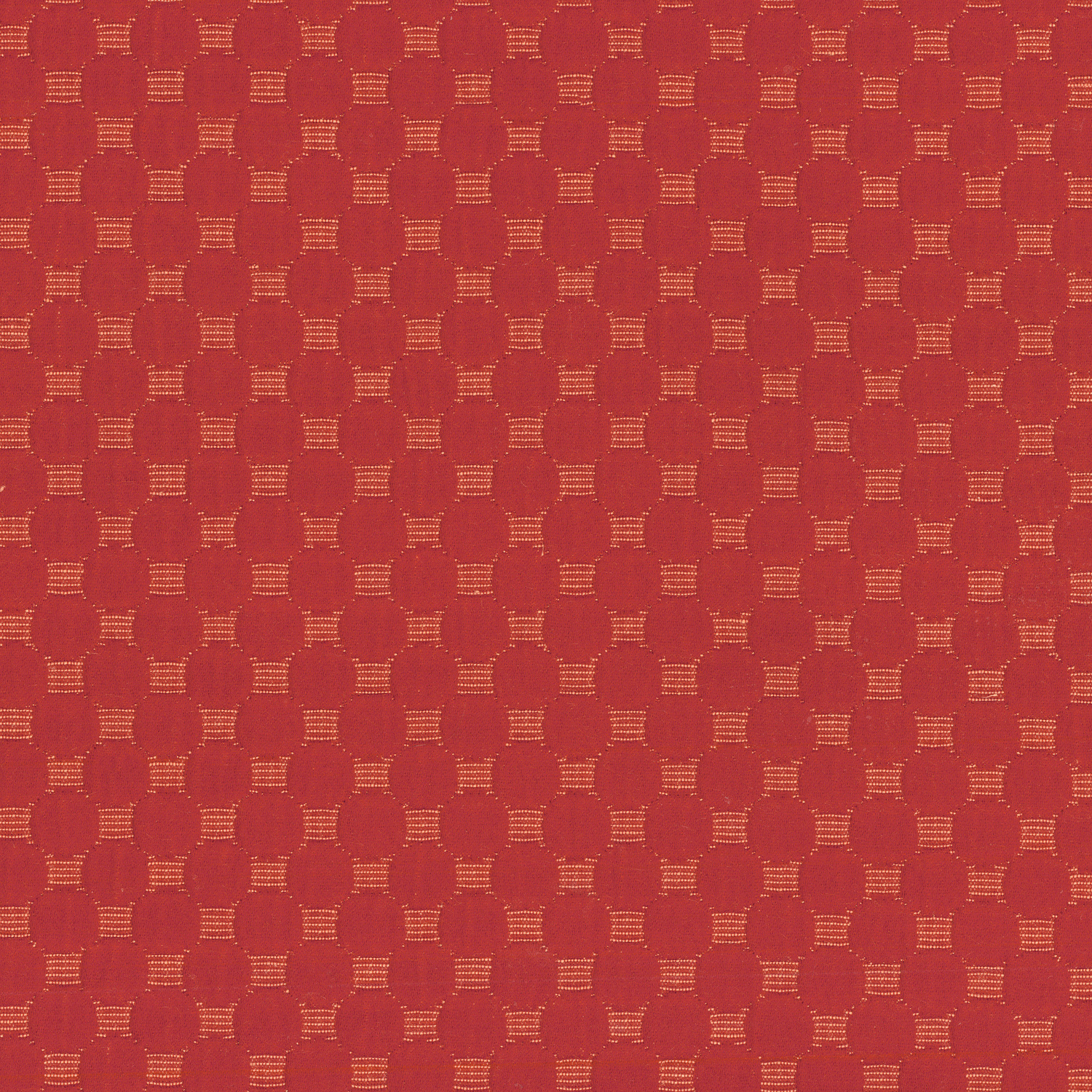 Waverly Upholstery Fabric 57\u0022-Round We Go/Poppy