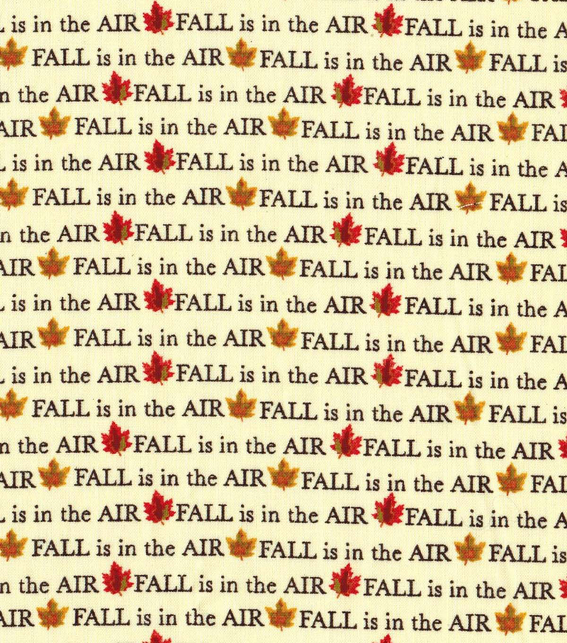 Harvest Cotton Fabric 43\u0022-Fall is in the Air