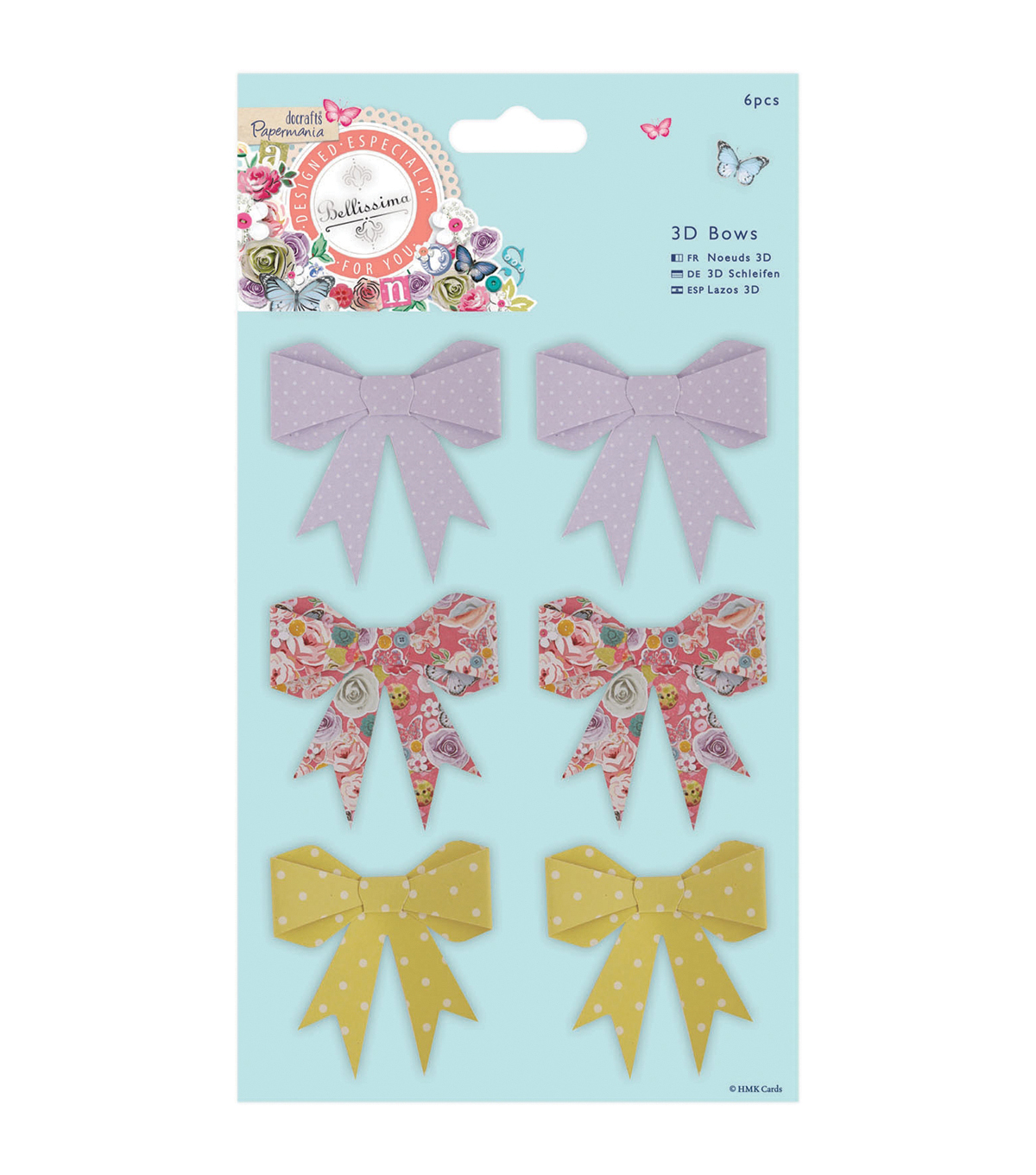 Papermania Bellissima 3D Bows