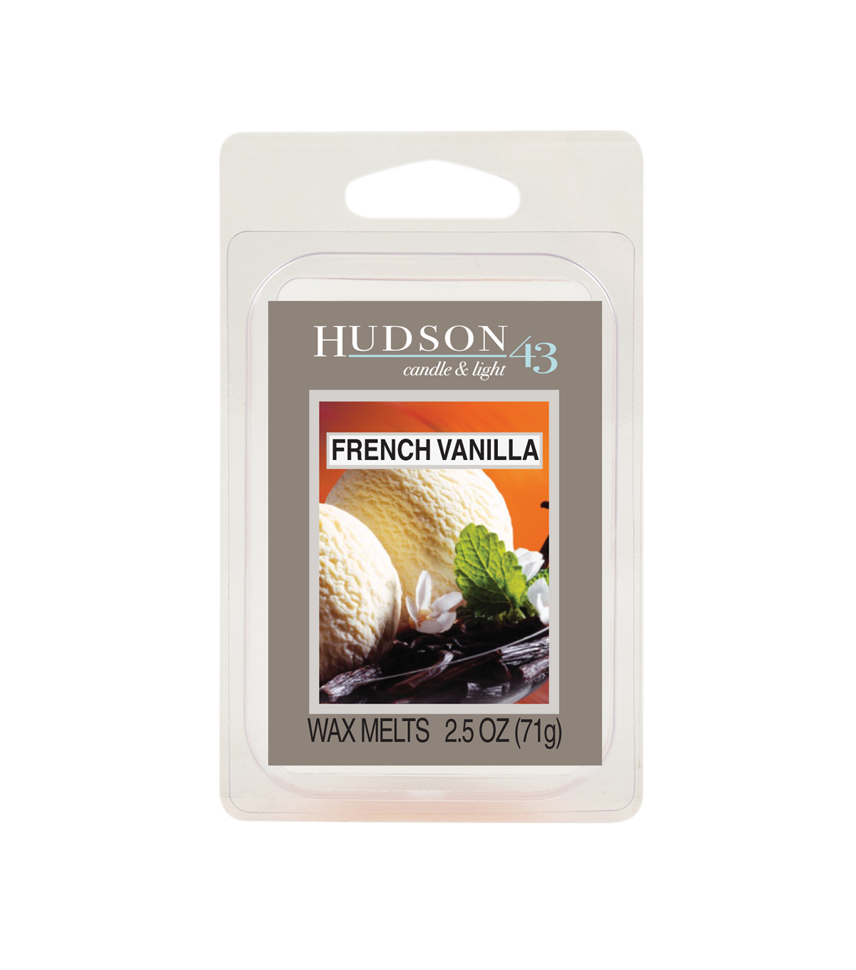 Hudson 43™ Candle & Light Collection Wax Melt-French Vanilla