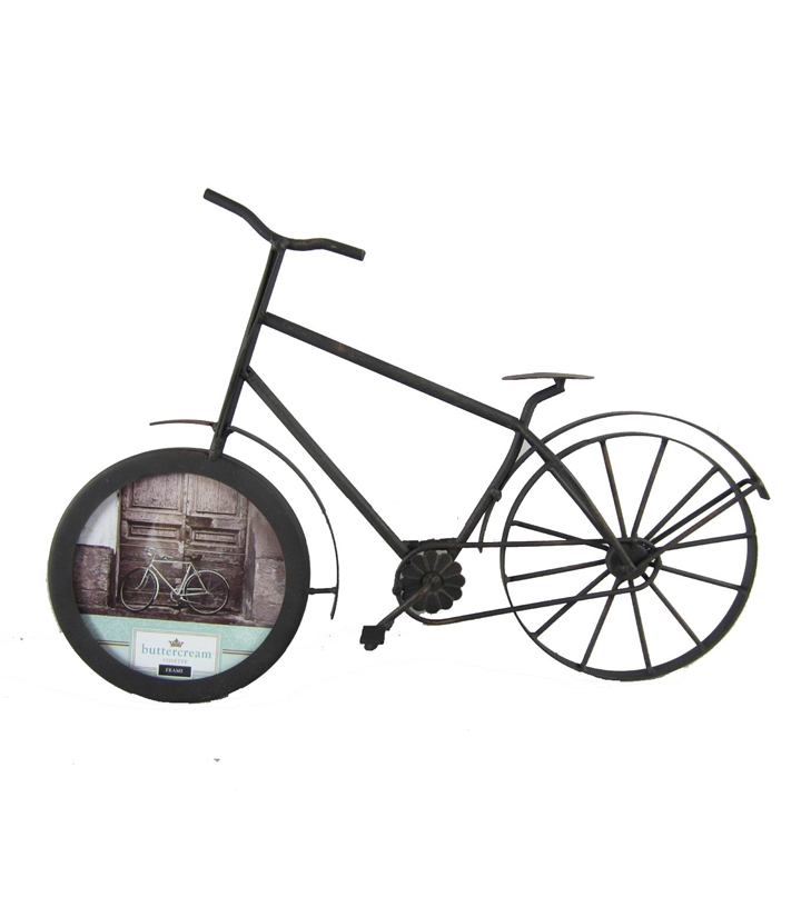 Buttercream™ Cosette Collection Metal Bicycle Picture Frame