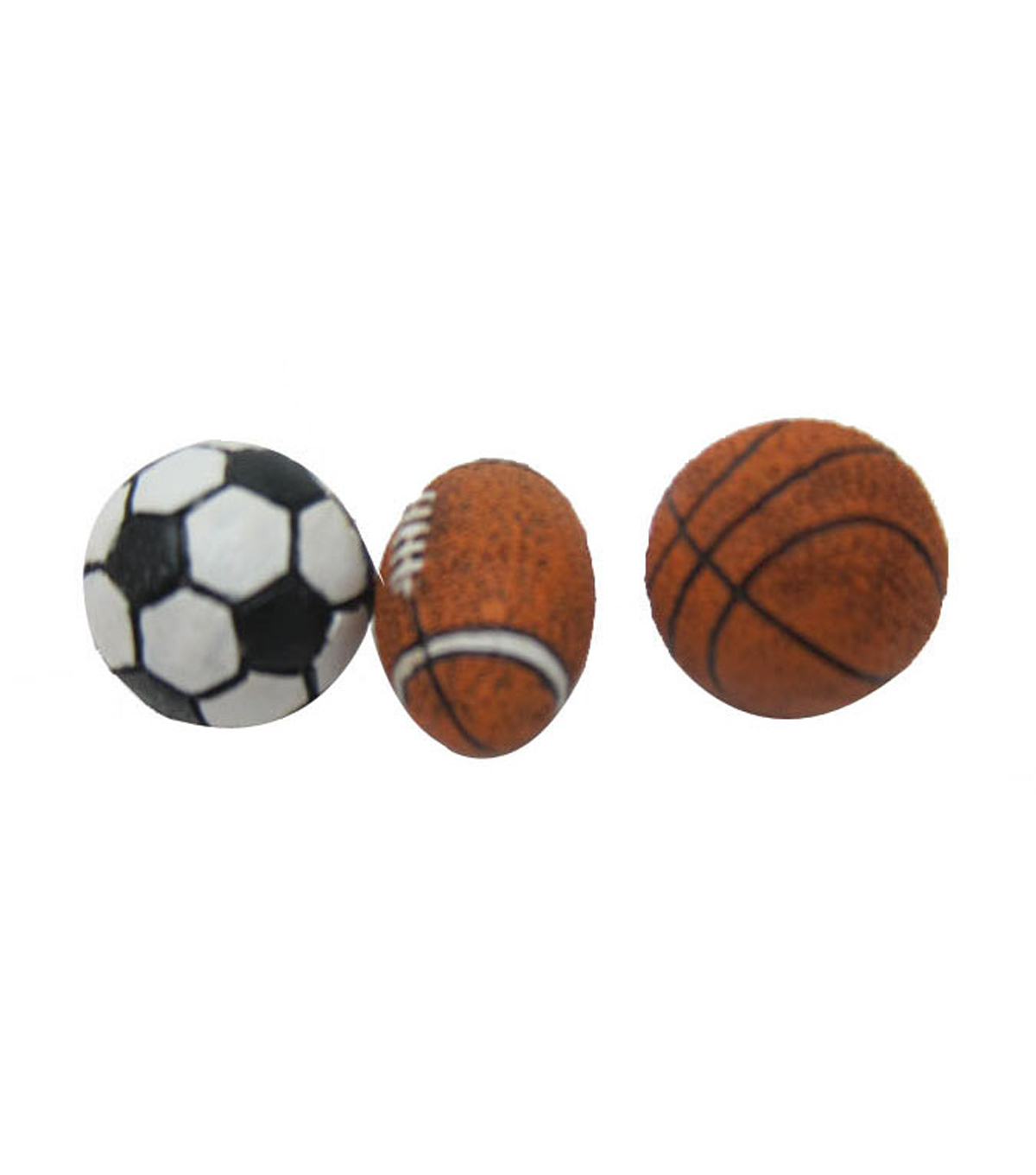 Bloom Room Littles Resin Pack of 3 Sports Balls