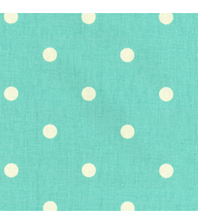 "P/K Lifestyles Print Fabric 54""-On The Spot/Aqua"