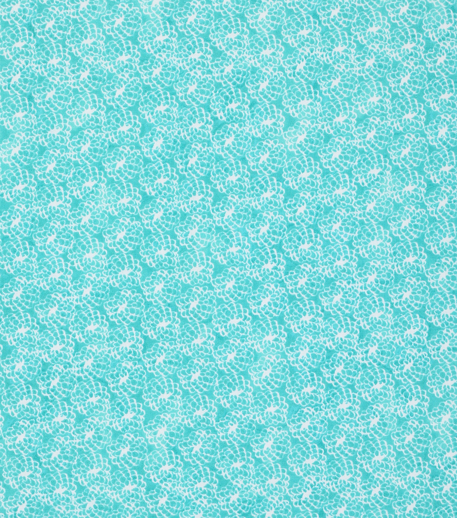 Keepsake Calico™ Cotton Fabric 43\u0022-Mum Aqua Tonal