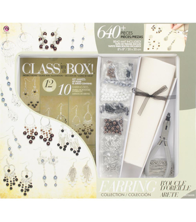 Cousin Jewelry Class In A Box Kit Silver Tone Earrings