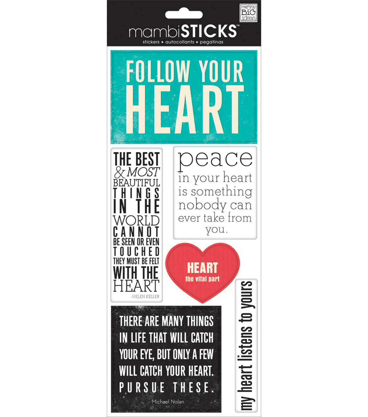 Speciality Stickers-Follow Your Heart