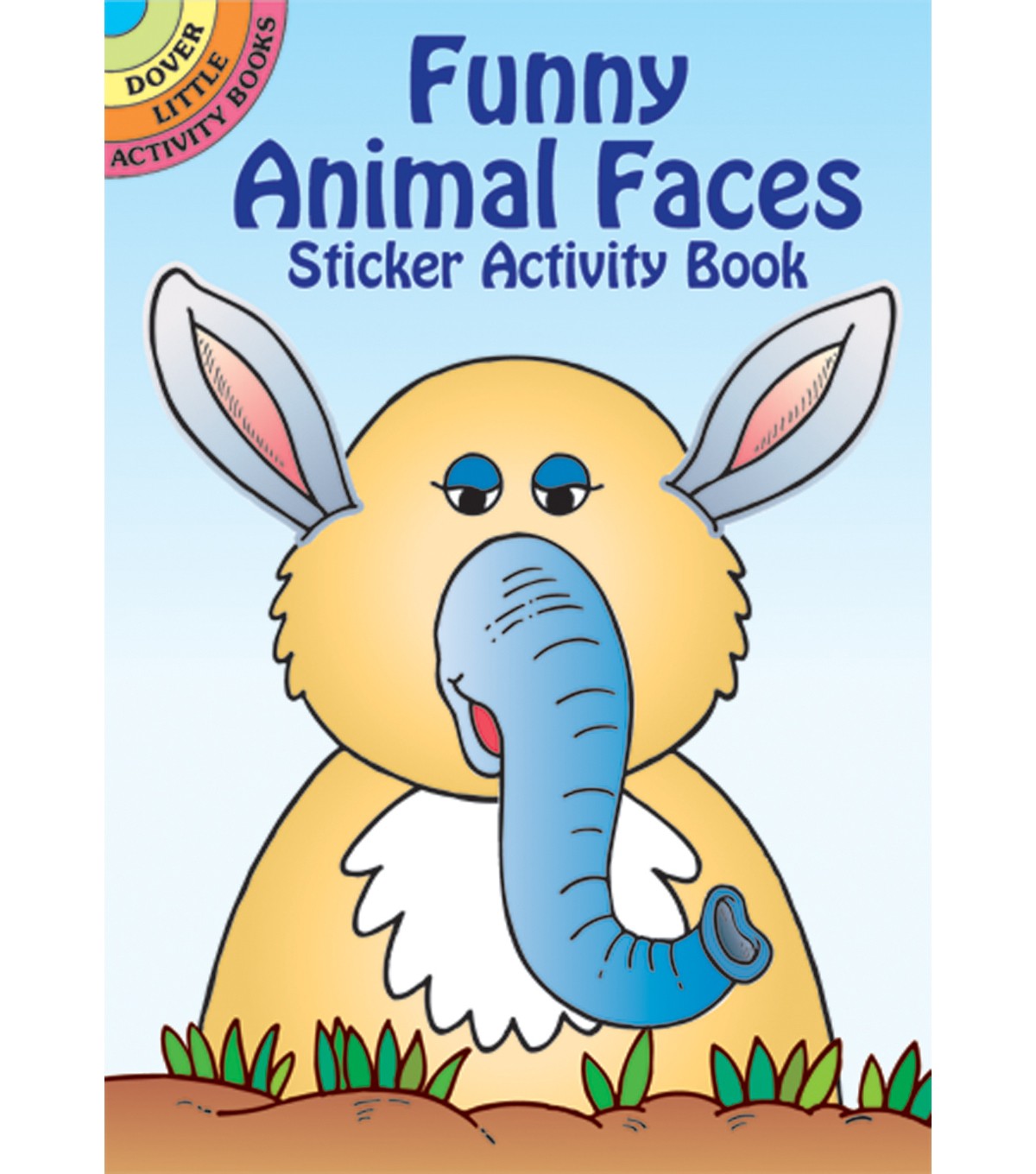 Dover Publications-Funny Animal Faces Sticker Book
