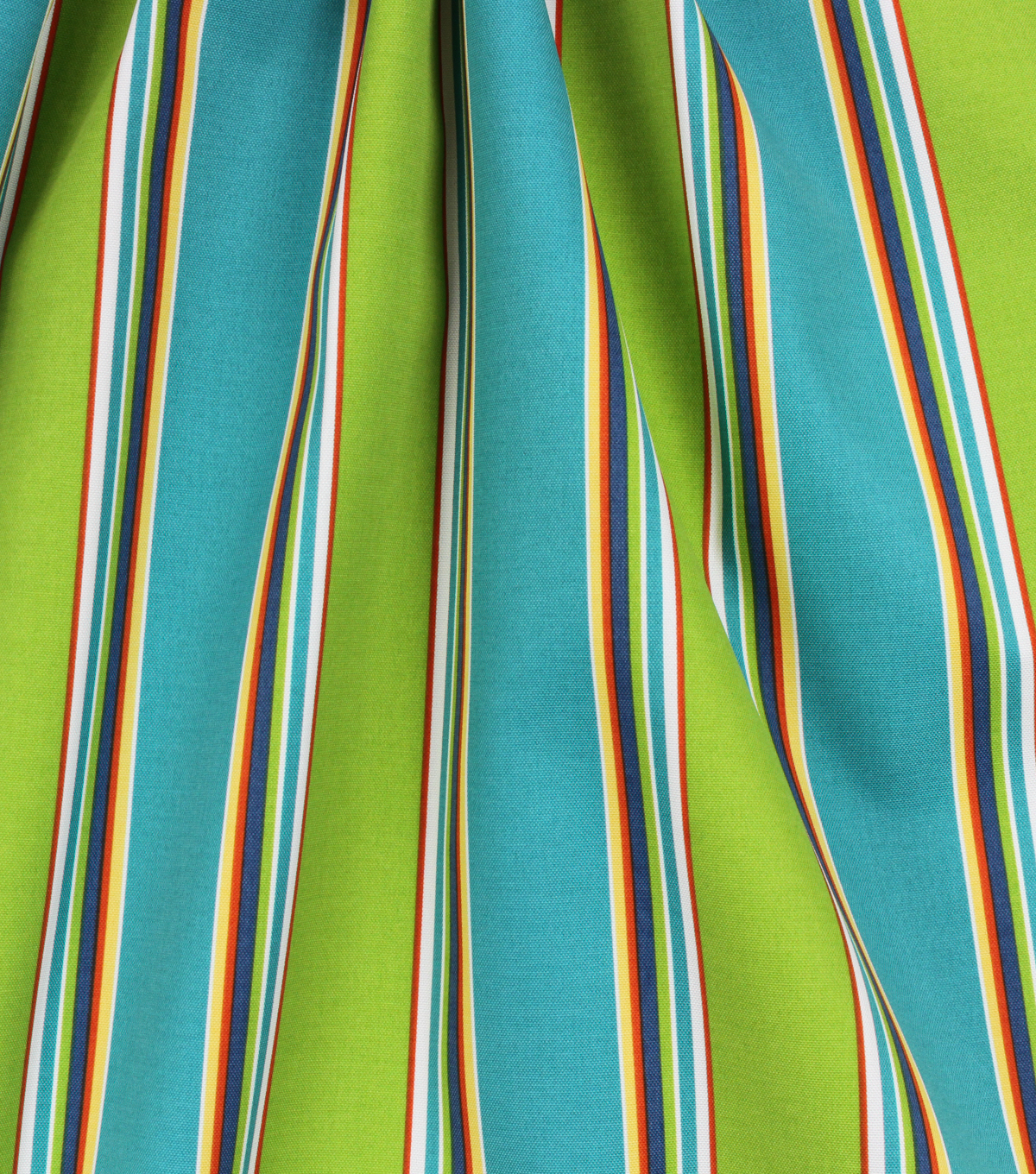 Solarium Outdoor Print Fabric 54\u0027\u0027-Blue & Green Stripes