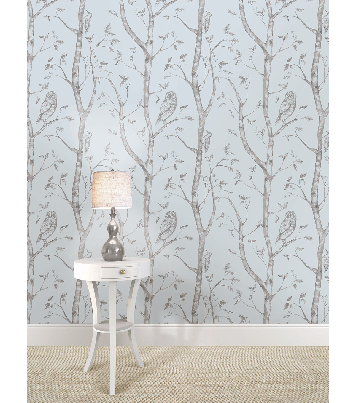WallPops®NuWallpaper™ Blue Woods Peel And Stick Wallpaper
