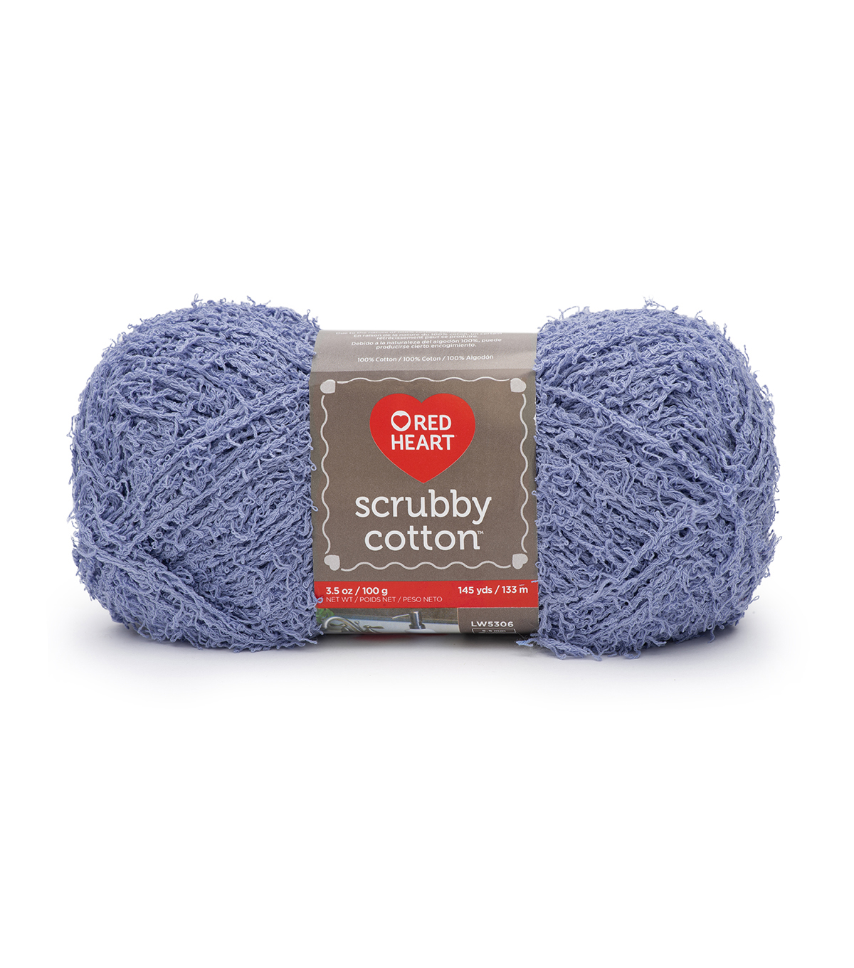 Red Heart® Scrubby Cotton Yarn