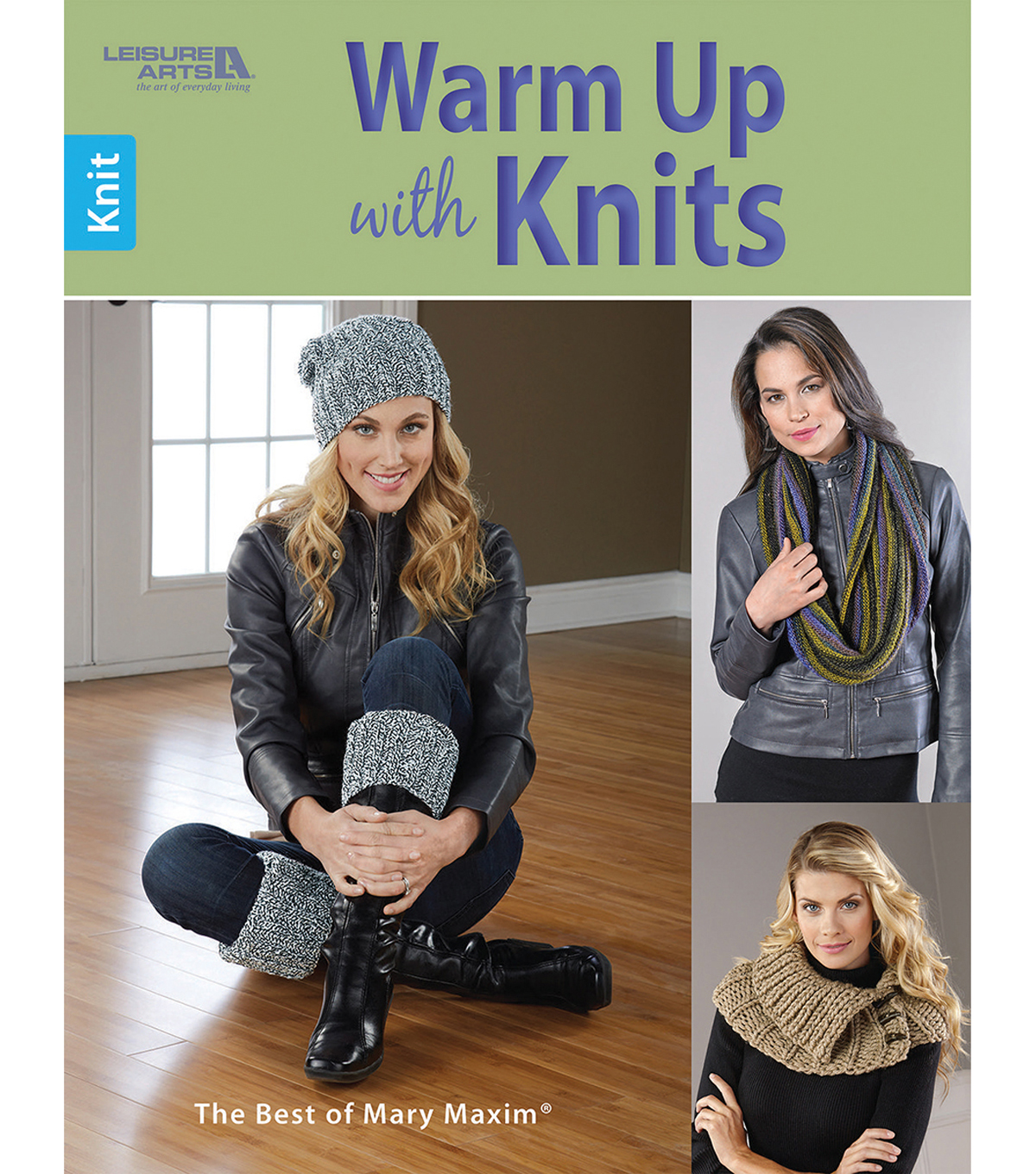 Warm Up With Knits The Best Of Mary Maxim Book