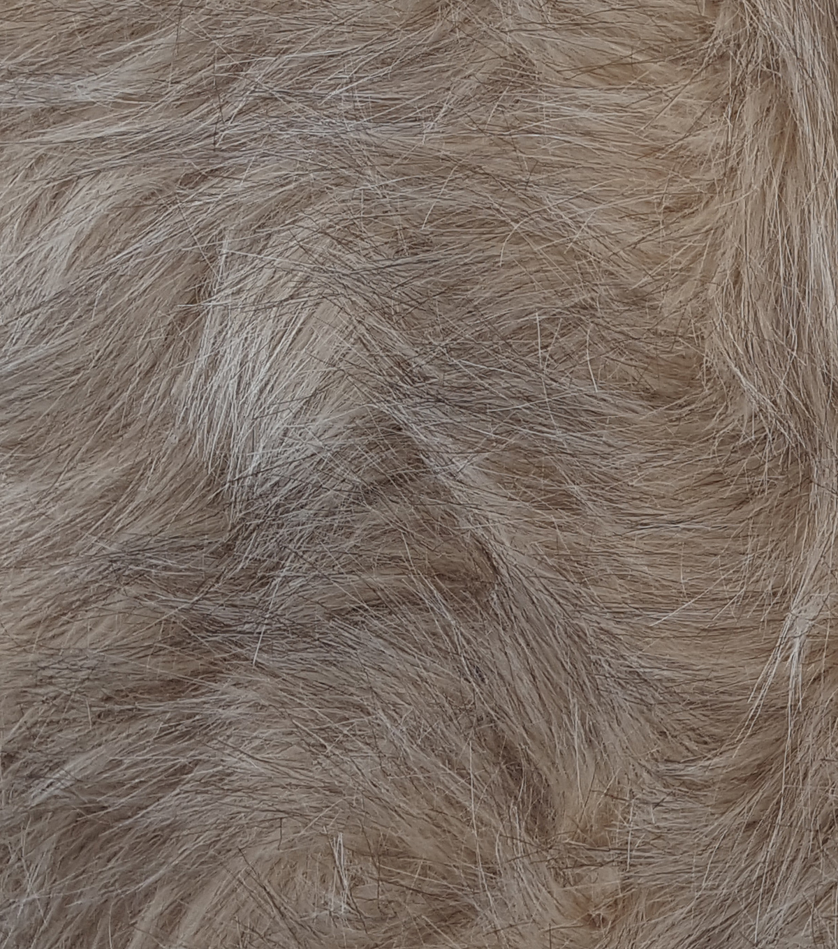 Fashion Faux Fur Fabric 57\u0022-Blonde Wolf