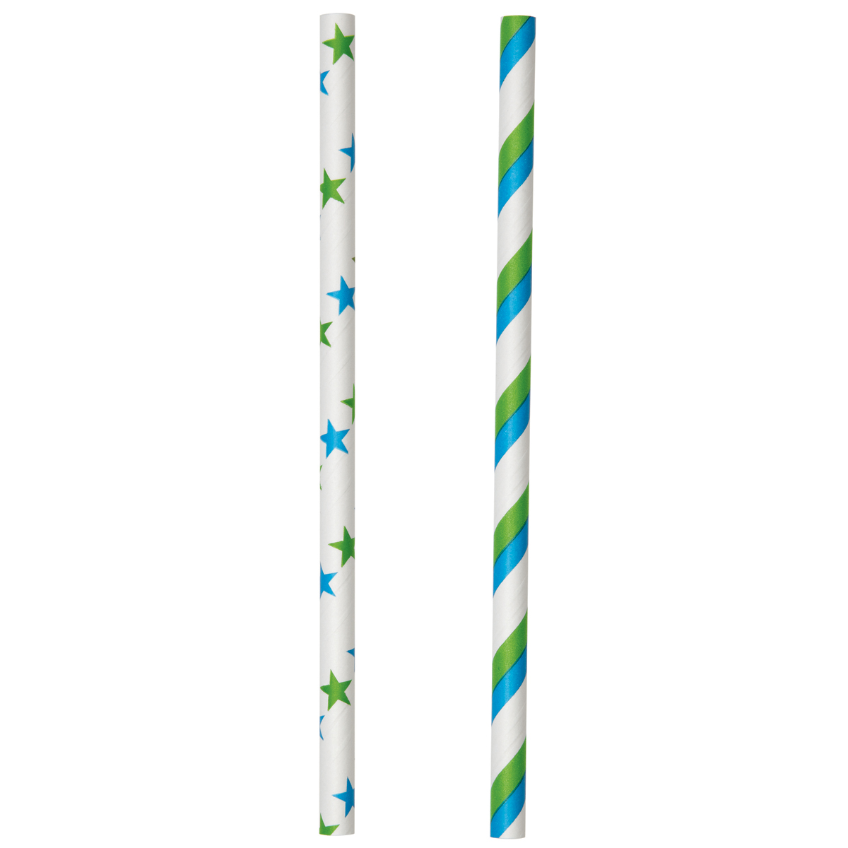 Lollipop Sticks-Blue and Green 6\u0022 30/Pkg