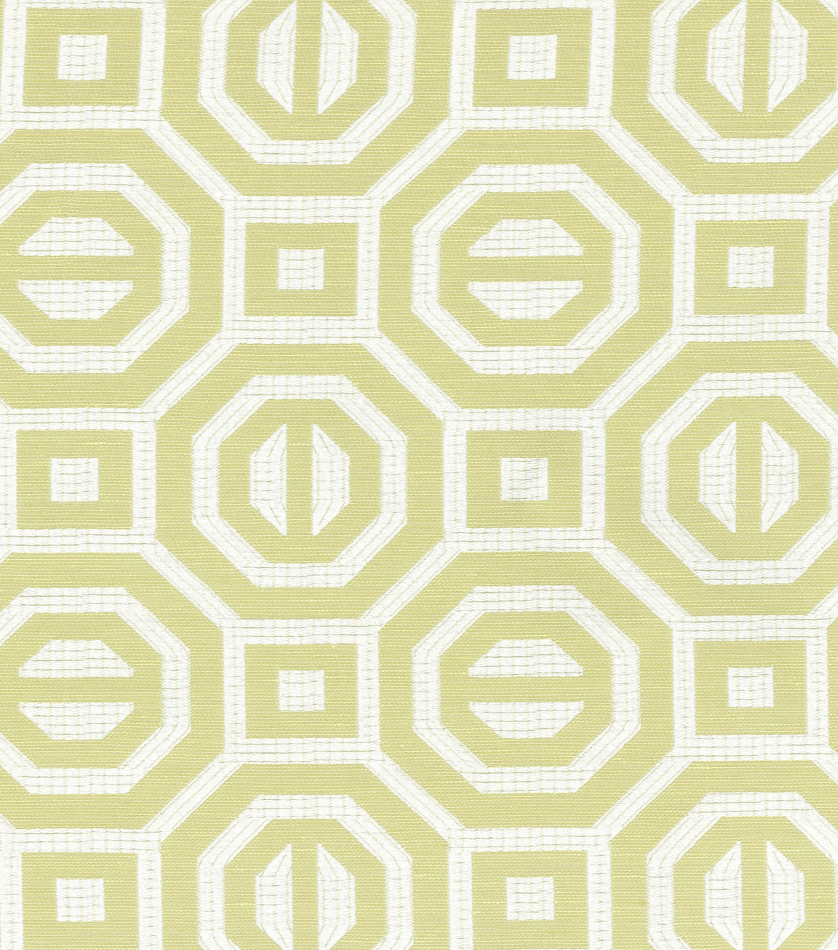 Williamsburg Upholstery Fabric-Georgian Geo/Citron