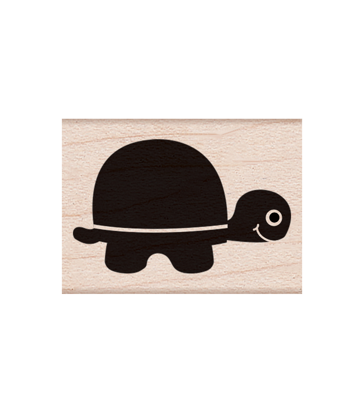 Hero Arts® Wood Mounted Rubber Stamp-Little Turtle
