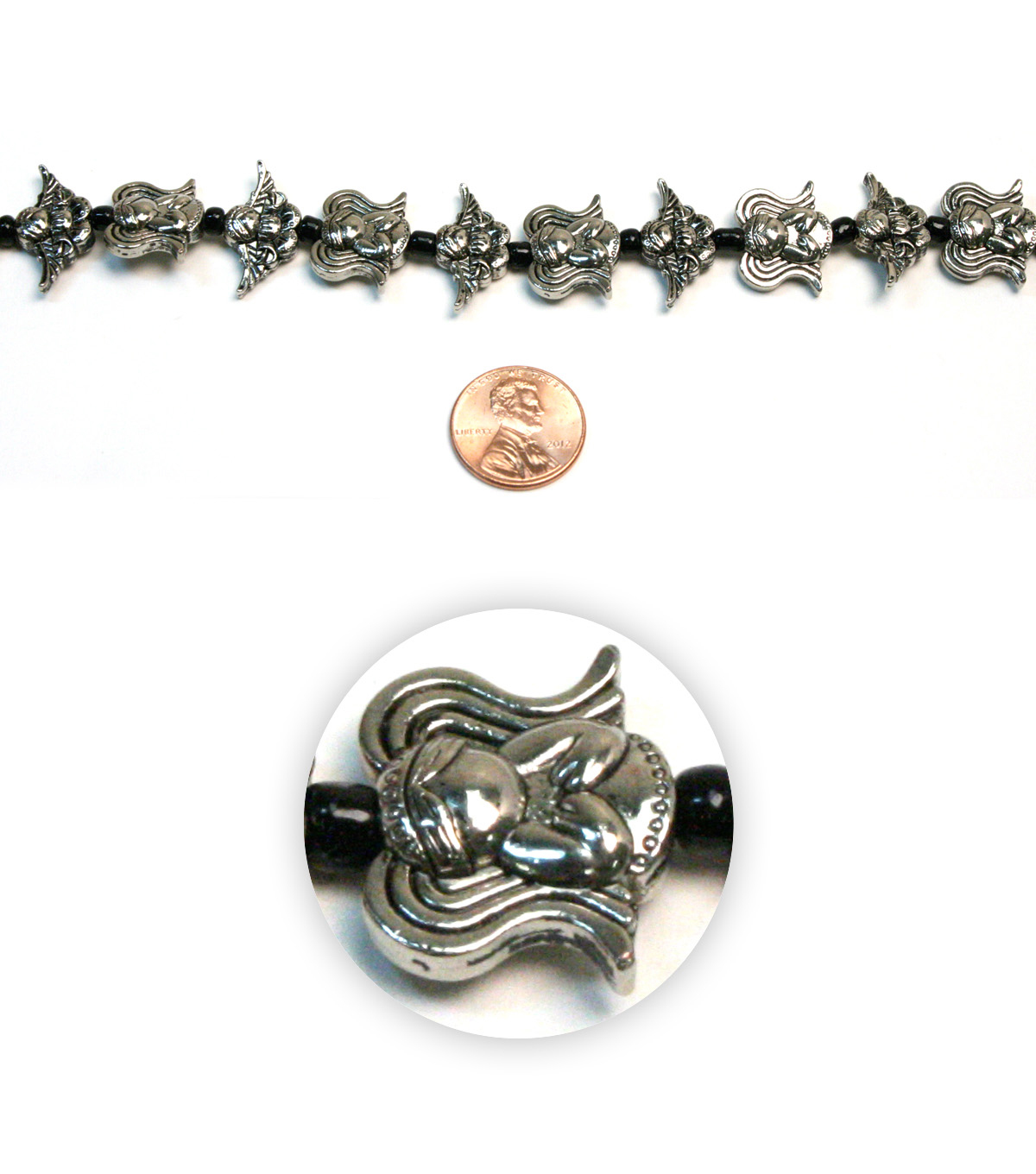 Assorted Angel Metal Beads