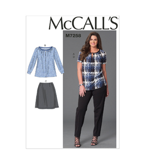 McCall's Womens Casual-M7258