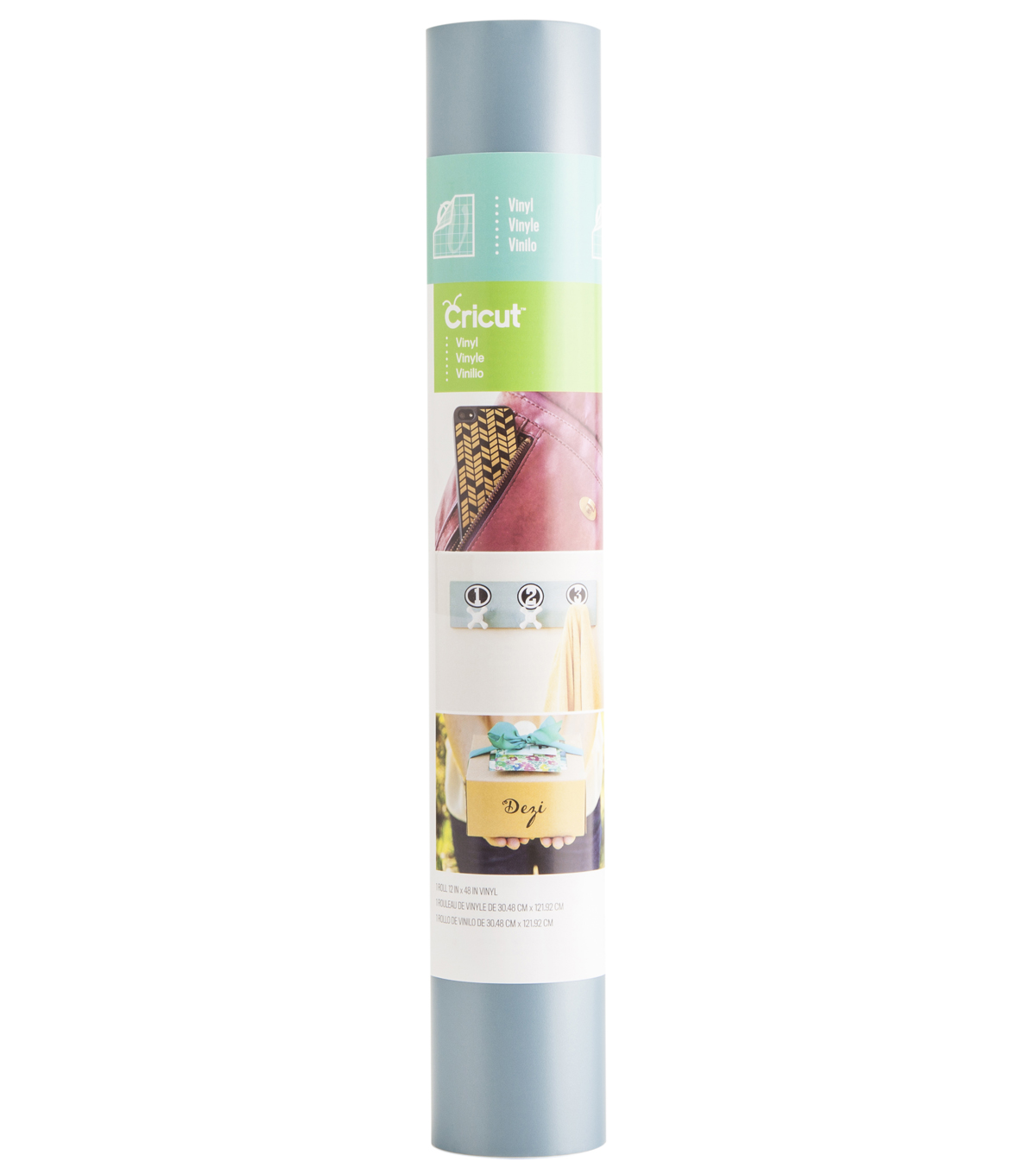 Cricut® Vinyl 12X48 Roll Ocean Metallic
