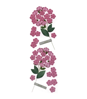 Martha Stewart Phlox Millinery Stickers