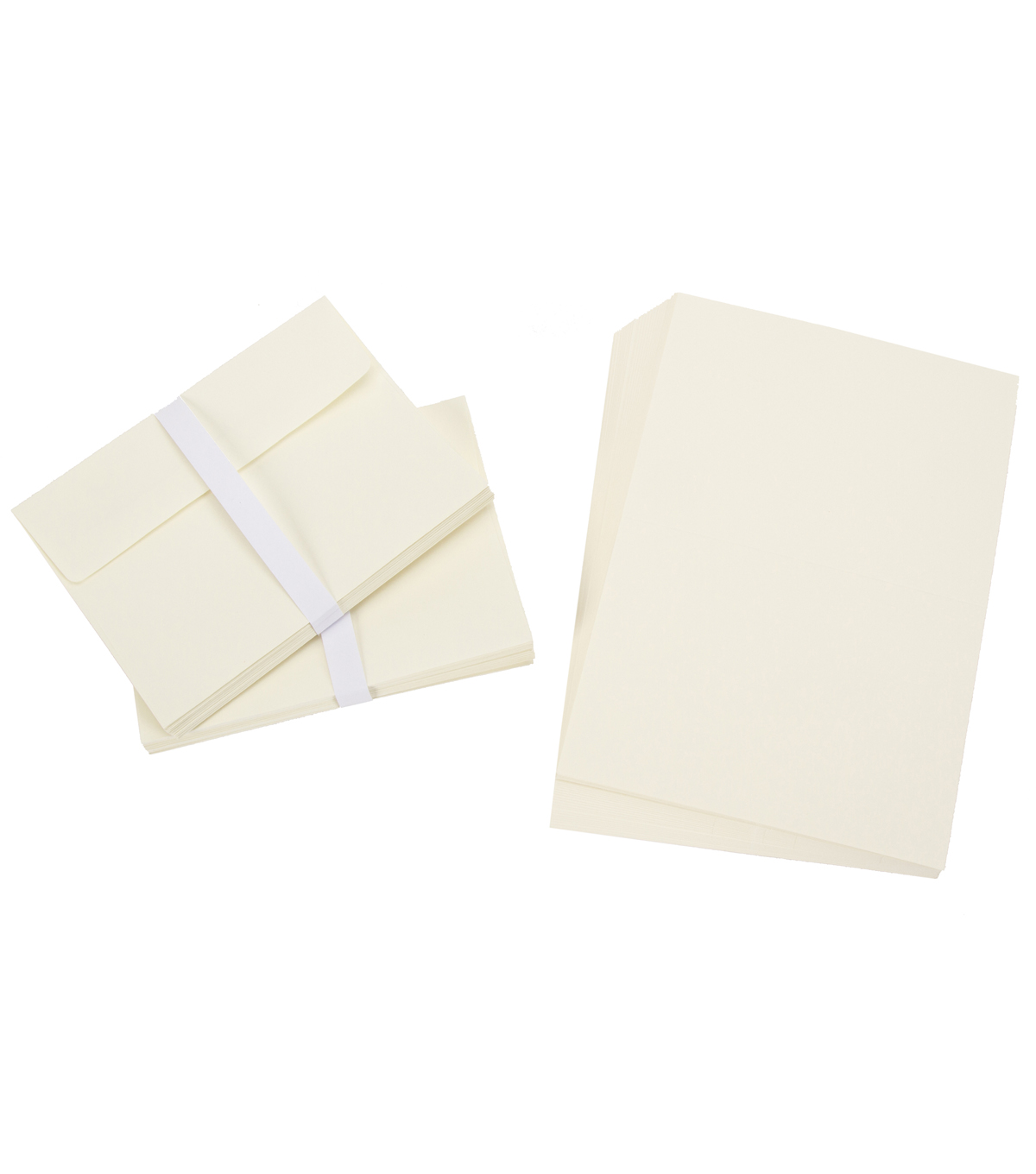 Core\u0027dinations Card/Envelopes:  A7 Ivory; 50 pack