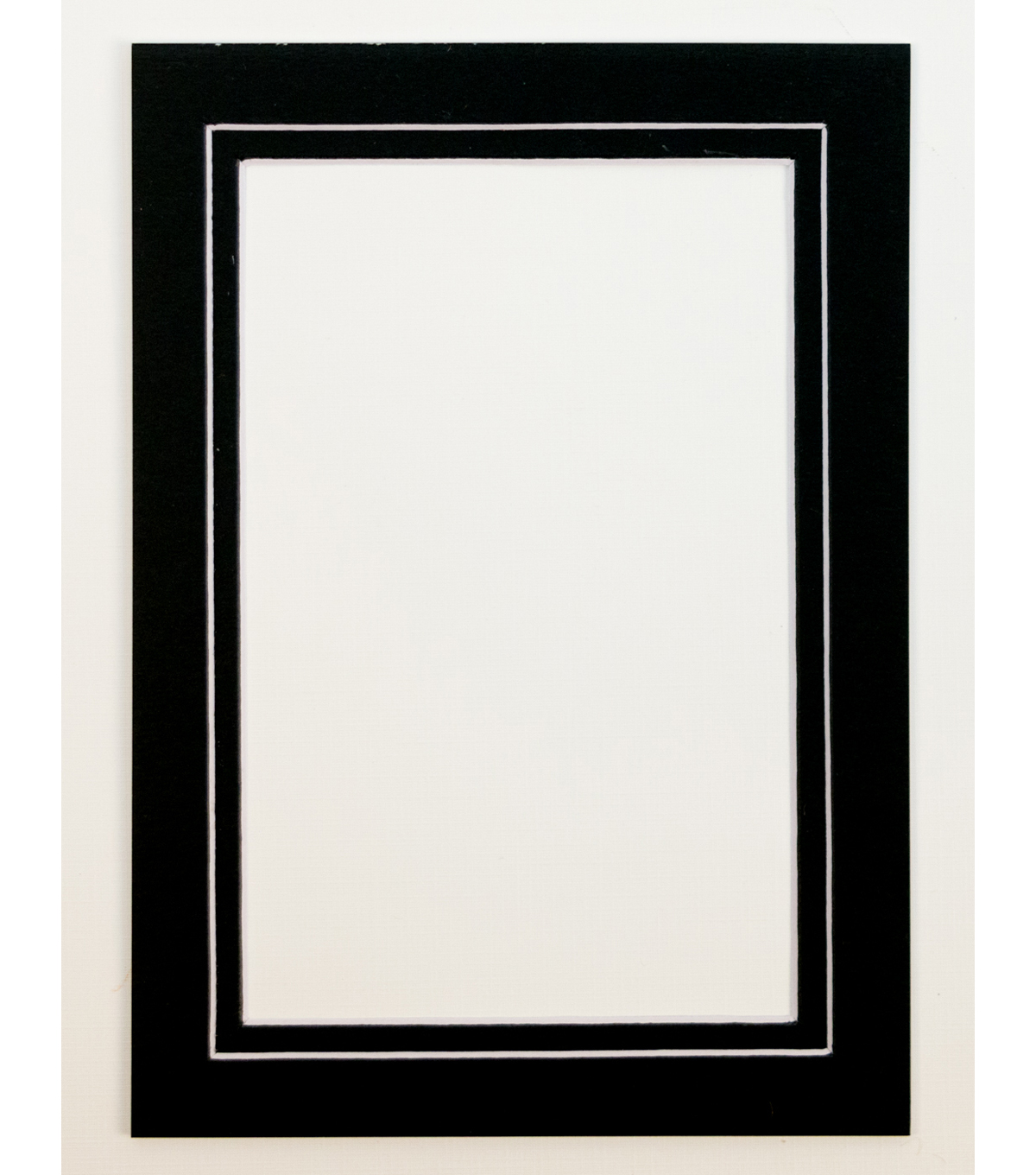 Framing Mats 5X7-Double Black