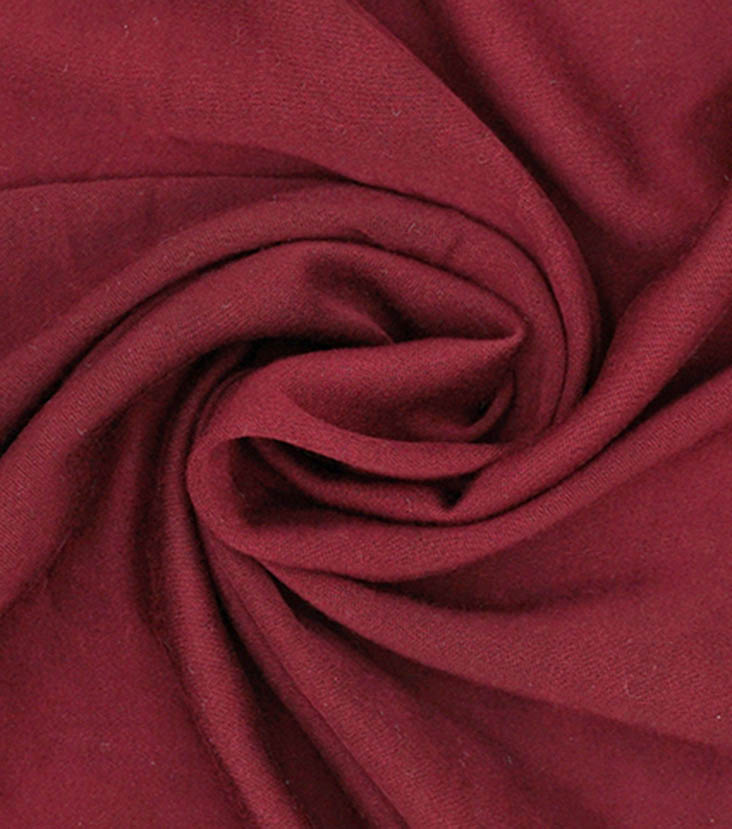"Silky Stretch Rayon Fabric 54""-Tawny Port Wine"