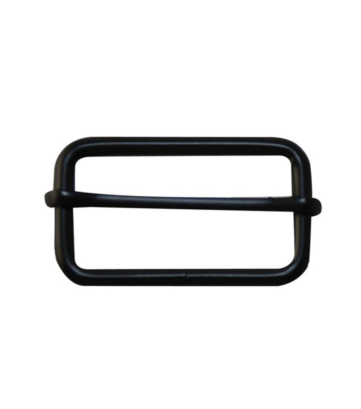 "Everything Mary Black 1.75"" Rectangle Buckles-2pk"