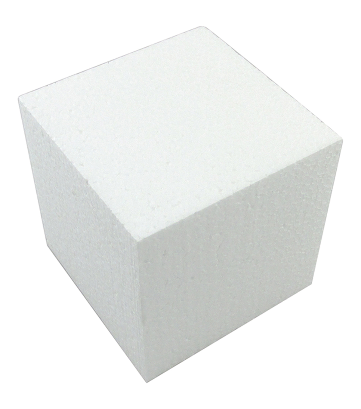 "Smooth Foam Cube 3"" 1/Pkg-White"