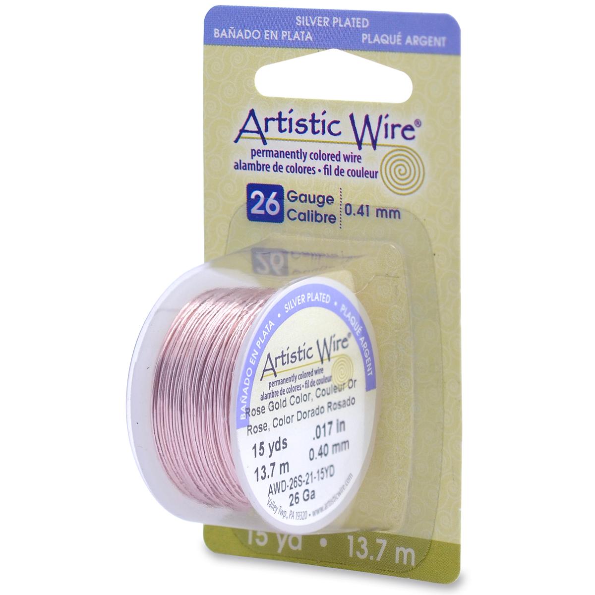 Artistic Wire 26 Gauge Copper Wire-15yd   JOANN
