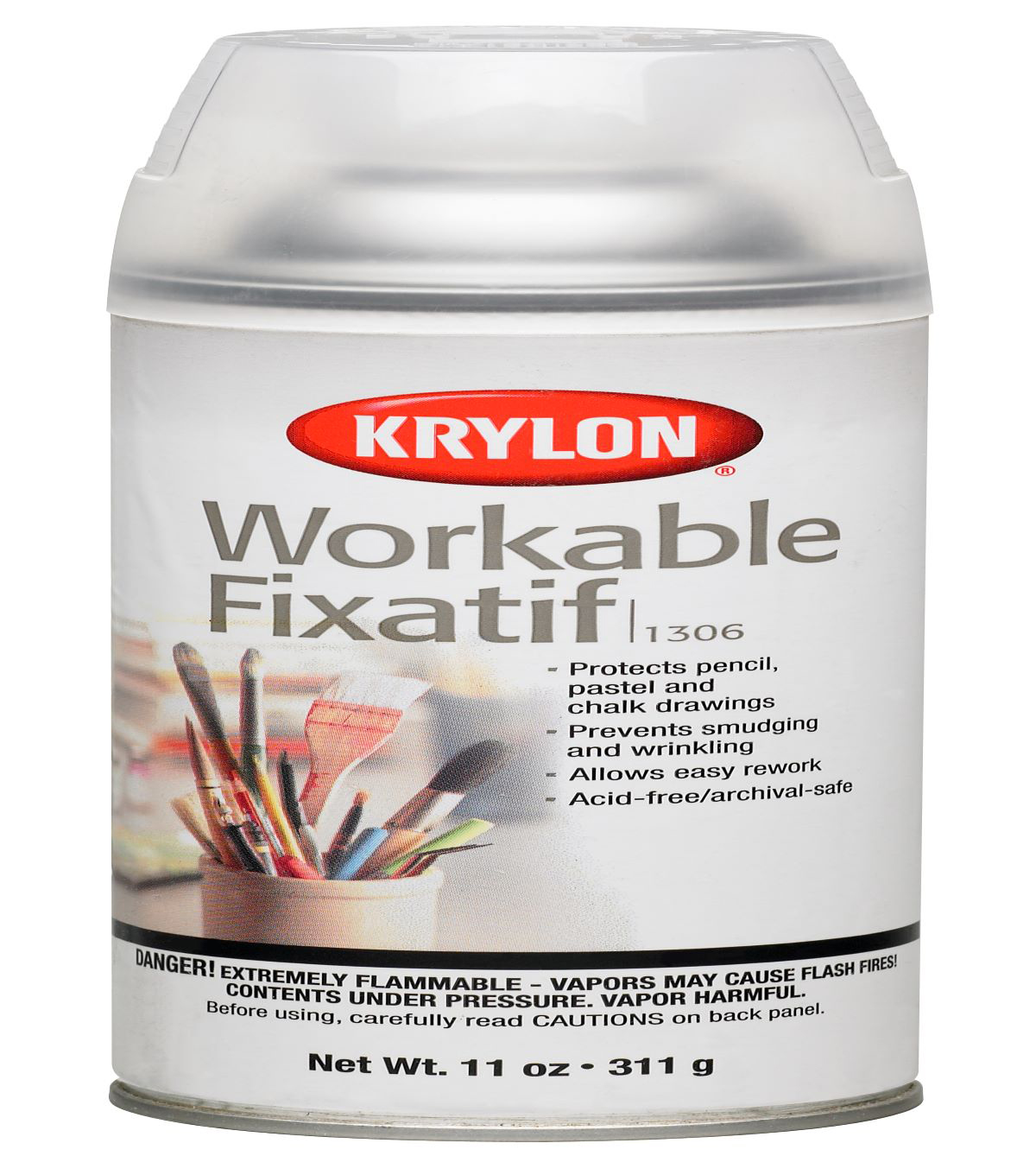 Krylon Workable Fixatif Spray-11 oz.