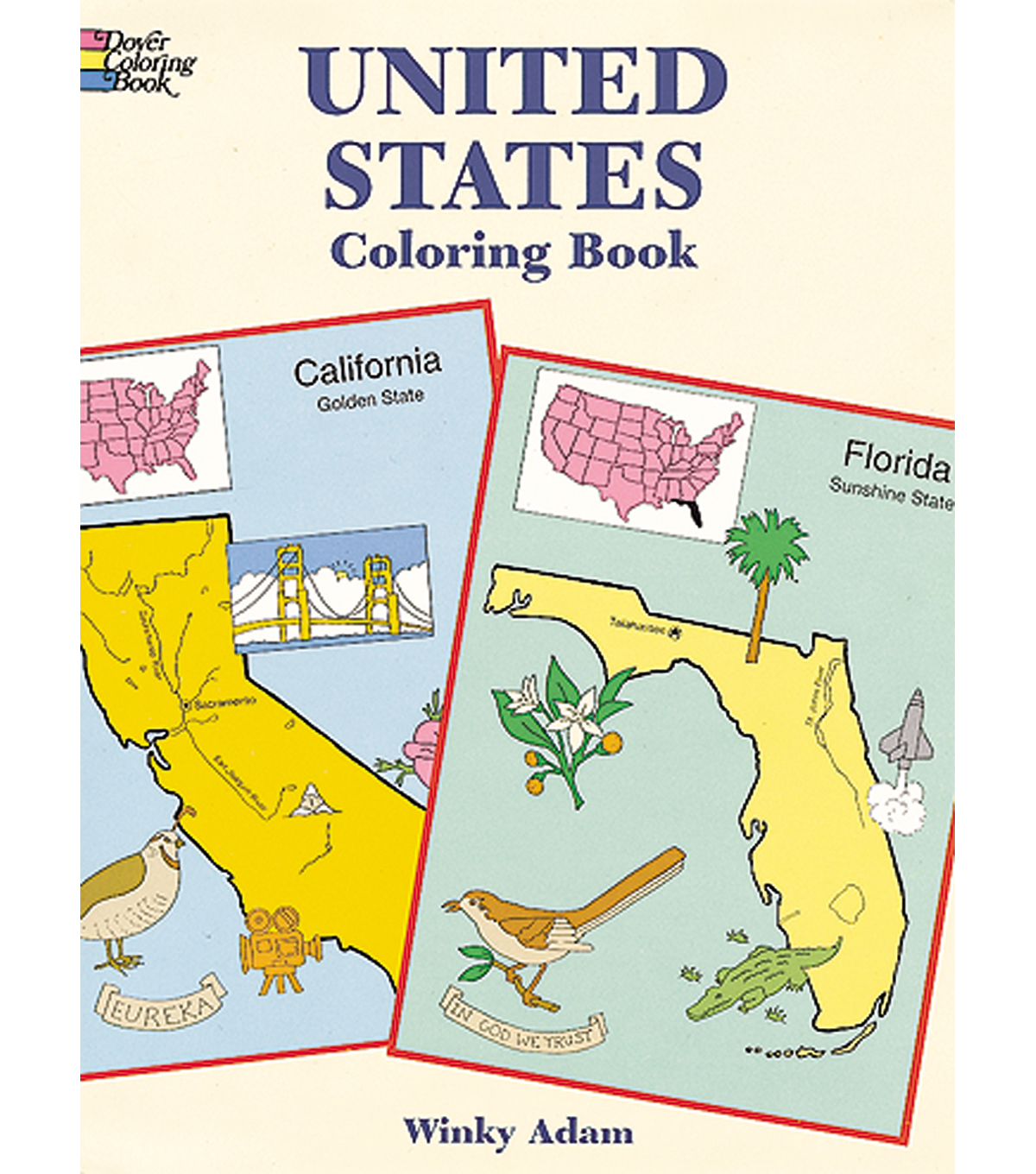 Dover Publications-United States Coloring Book