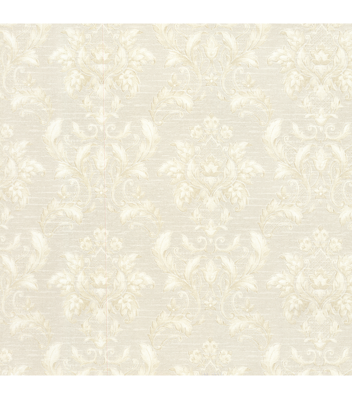 Estate Cream Damask Wallpaper