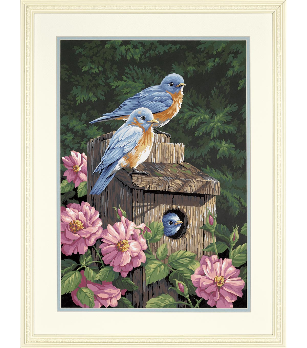 Dimensions Paint By Number Kit 14\u0022x20\u0022 Garden Bluebirds