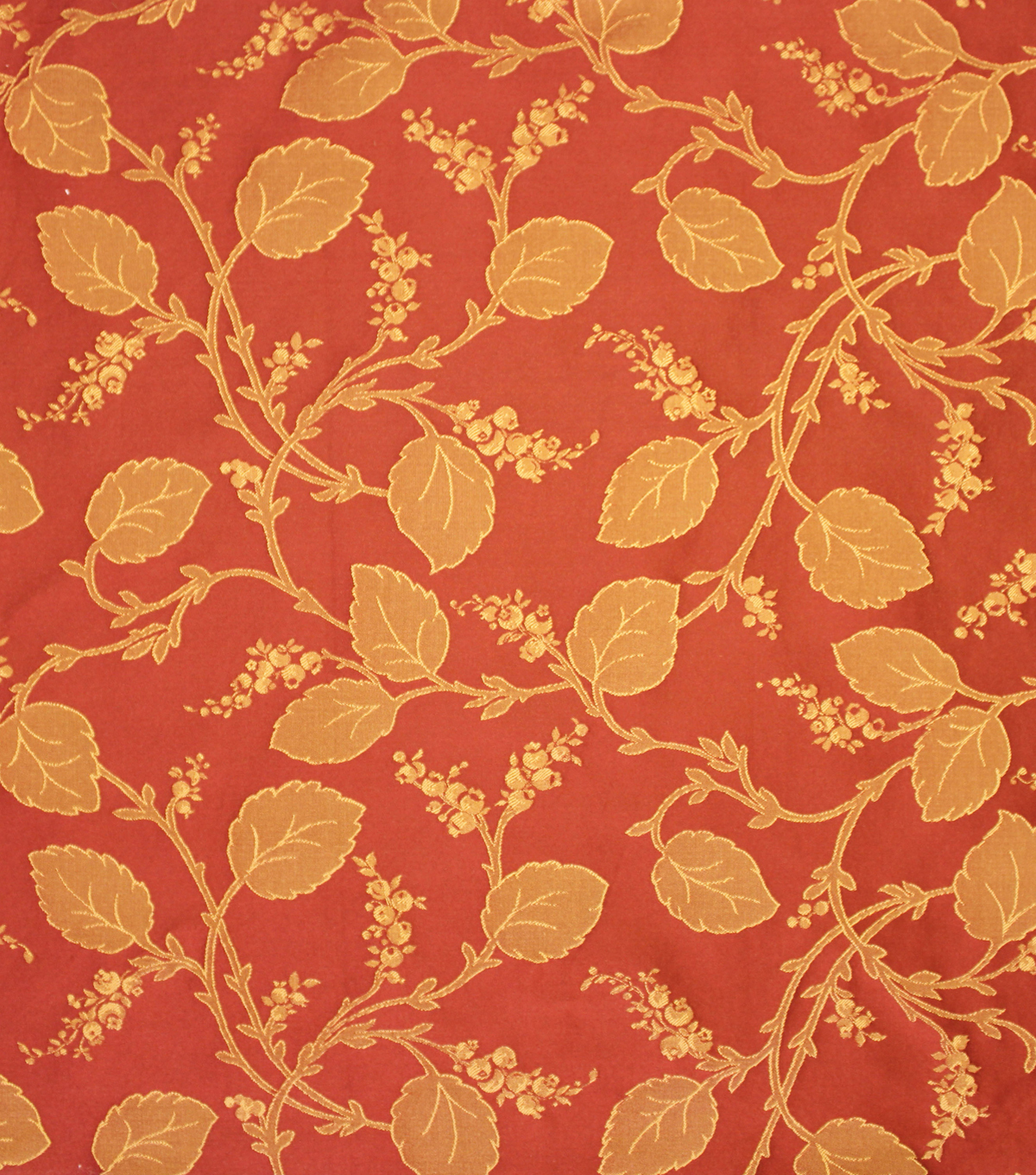 Home Decor 8\u0022x8\u0022 Fabric Swatch-Upholstery Fabric Barrow M6800-5282 Cinnabar
