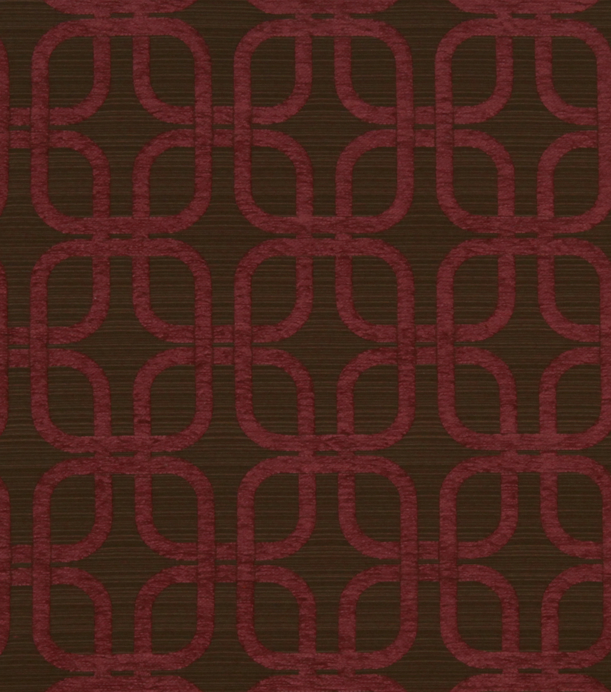 Home Decor 8\u0022x8\u0022 Fabric Swatch-Robert Allen Plush Links Berry