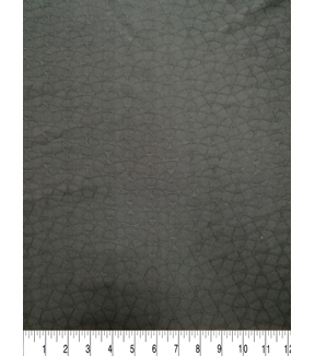 Silky Solids Fabric-Black Texture Jacquard