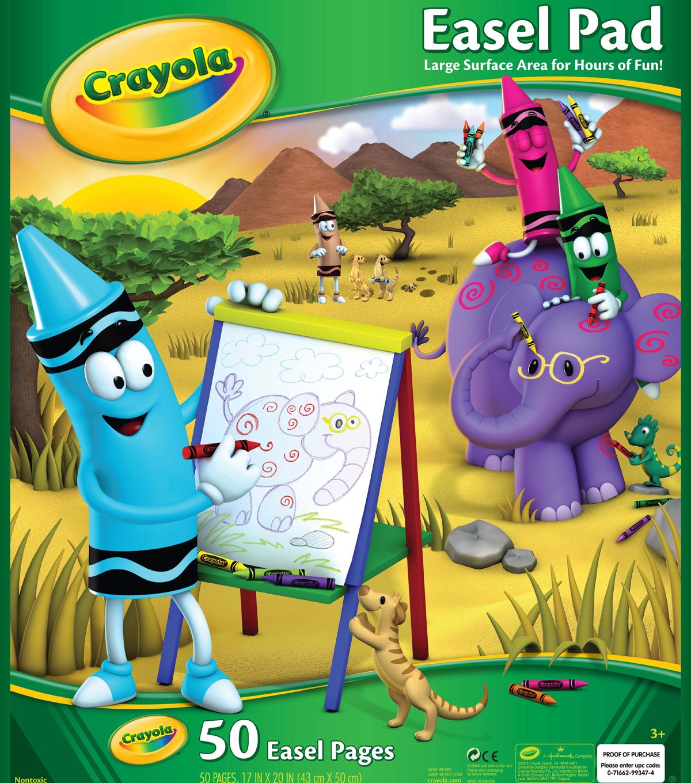 crayola giant easel pad 17