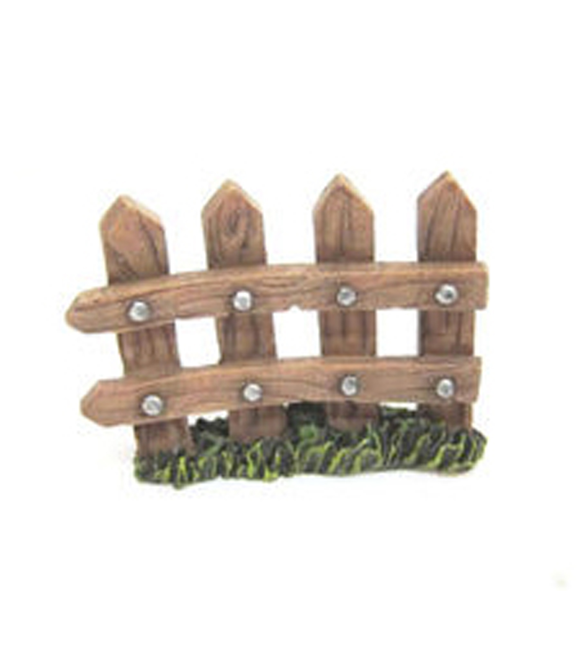 Fairy Garden Resin Picket Fence
