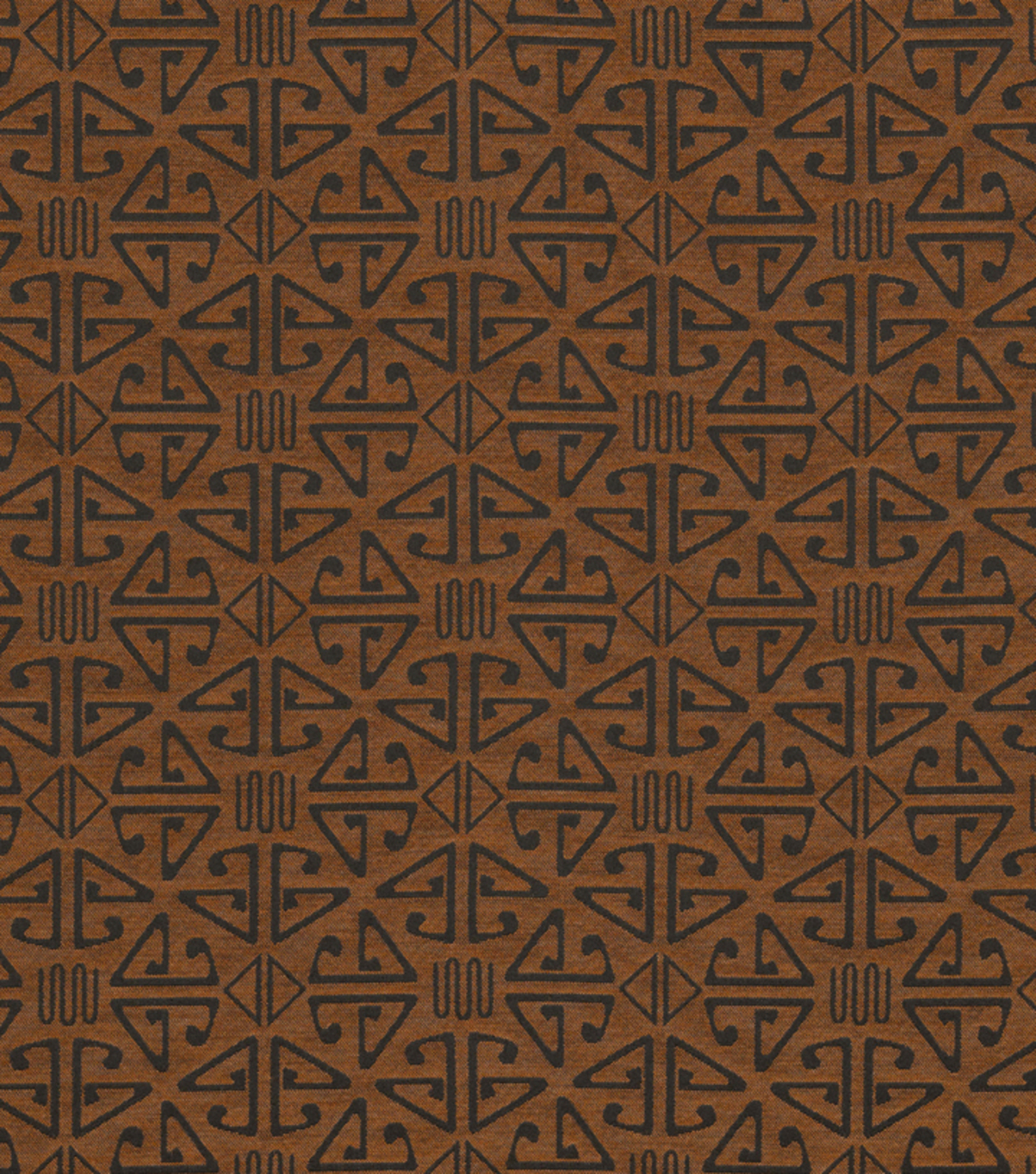 Home Decor Upholstery Fabric-Crypton Aztec-Chestnut