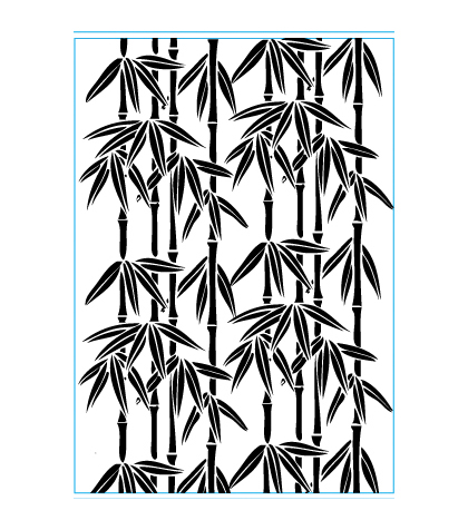 Elizabeth Craft Designs Bamboo Embossing Folder