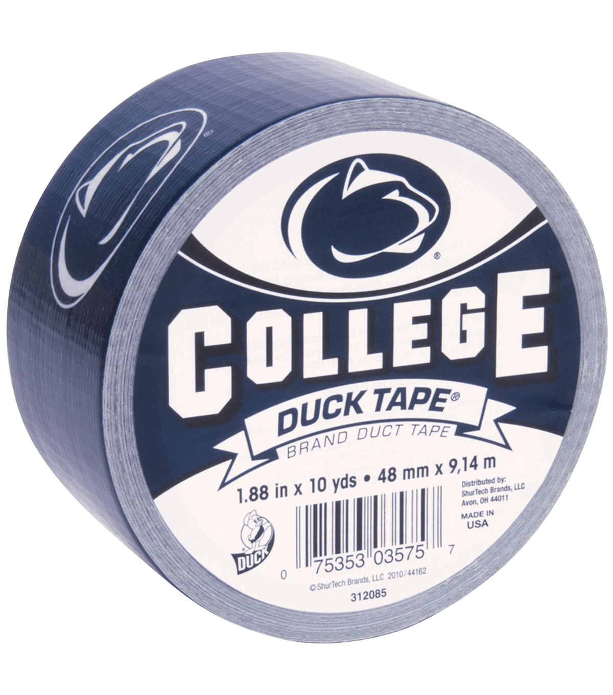 Duck Tape College Logo Penn State